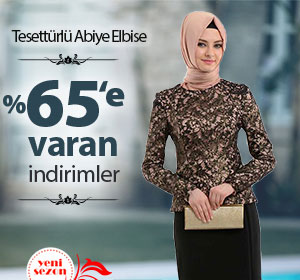 Tesettürlü Abiye Elbiselerde %65'e Varan İndirimleri Kaçırma!