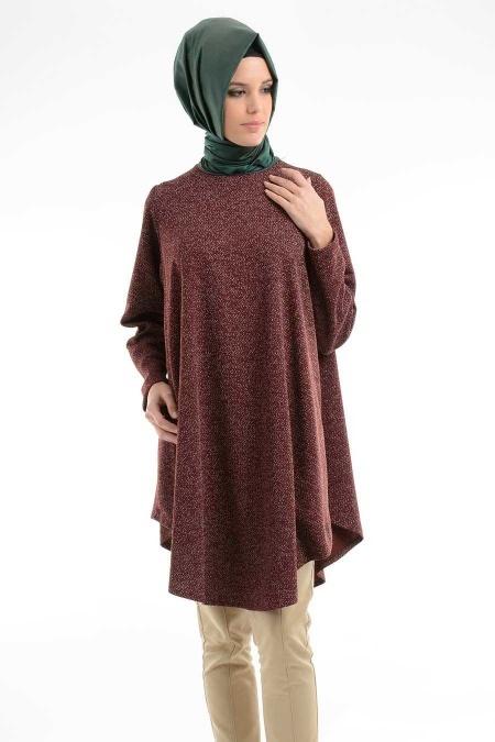 NAYLA COLLECTION Nayla Collection - Bordo Tunik