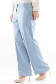 Modesty - Buz Mavi Tesettür Pantolon 1006BM - Thumbnail