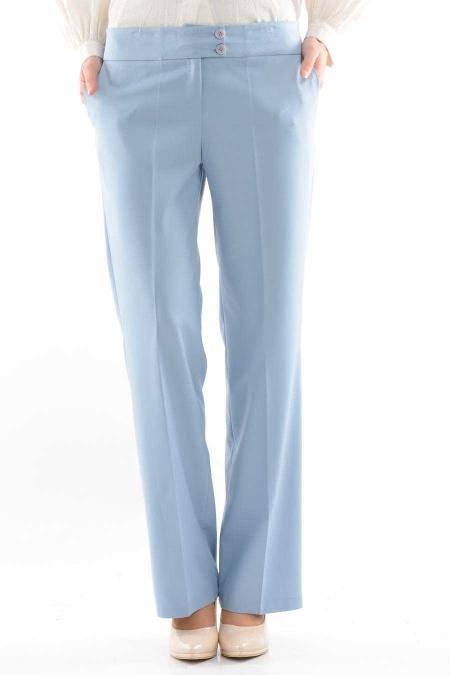 Modesty - Buz Mavi Tesettür Pantolon 1006BM