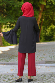 Neva Style - Bordo Pantolon 90610BR - Thumbnail