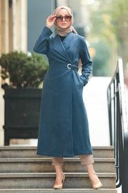 Neva Style - Cepli İndigo Mavisi Tesettür Kap 5569IM - Thumbnail