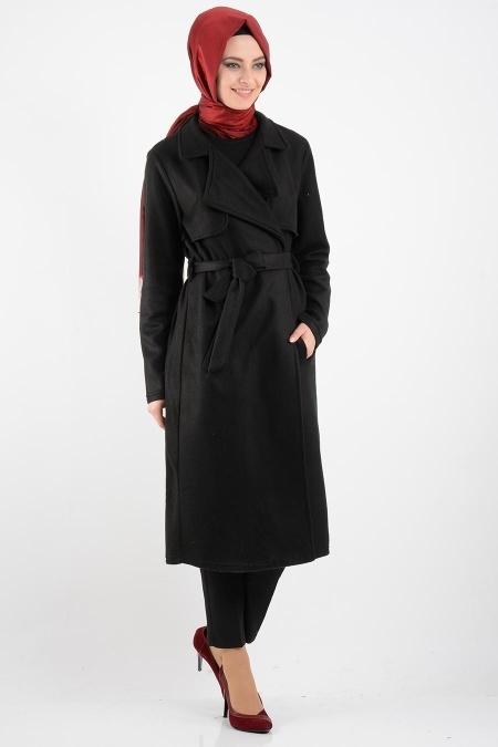 Neva Style - Siyah Kaban