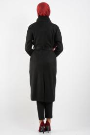 Neva Style - Siyah Kaban - Thumbnail
