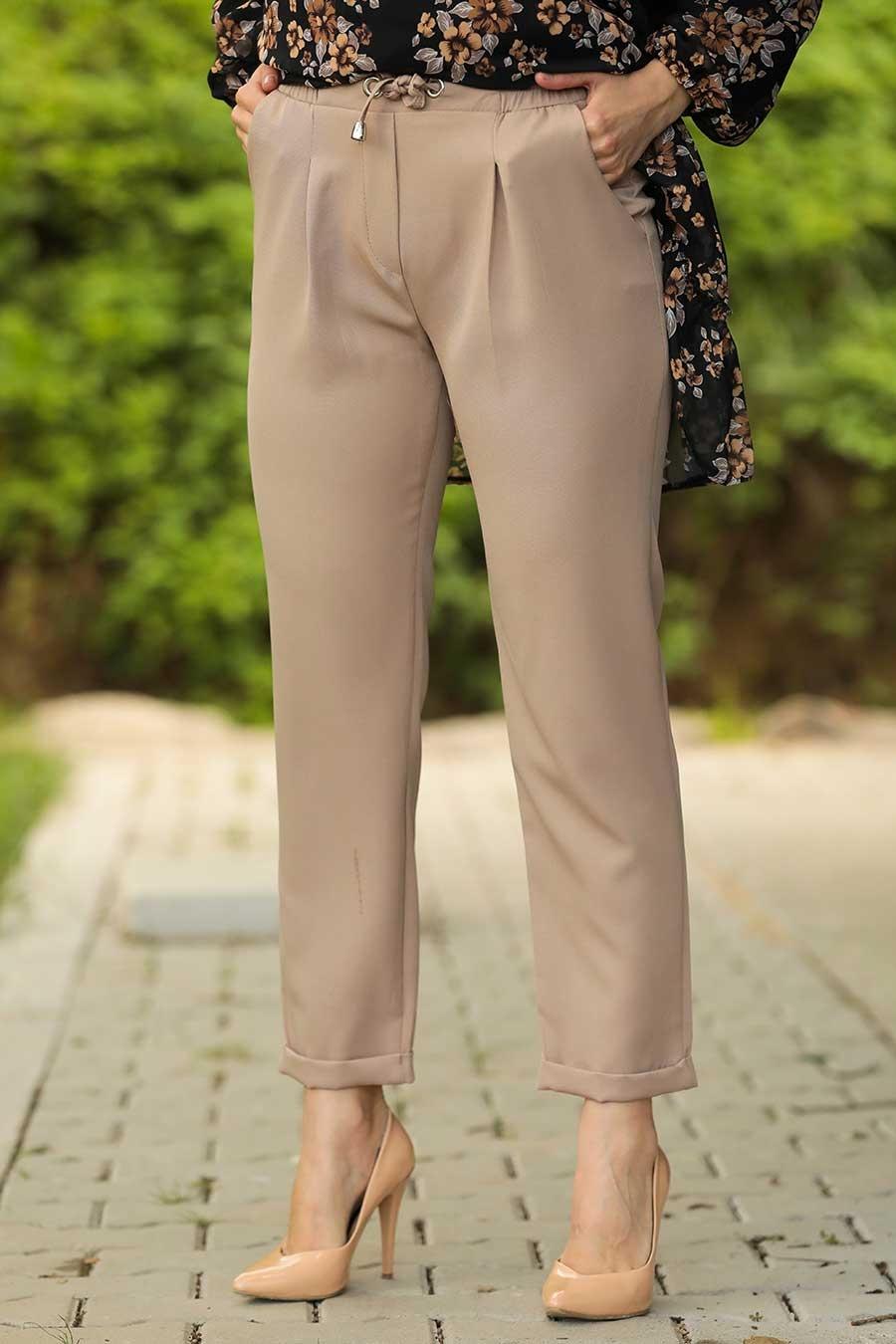 Neva Style - Vizon Tesettür Pantolon 10401V