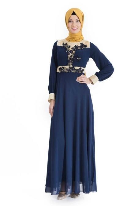 ÖzDuman - Lacivert Elbise