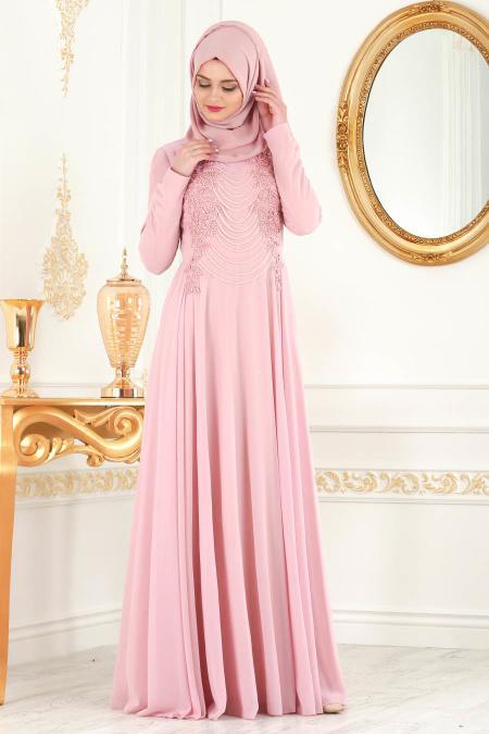 Rose Poudre Nayla Collection Robes De Soiree 7954pd Tesetturisland Com