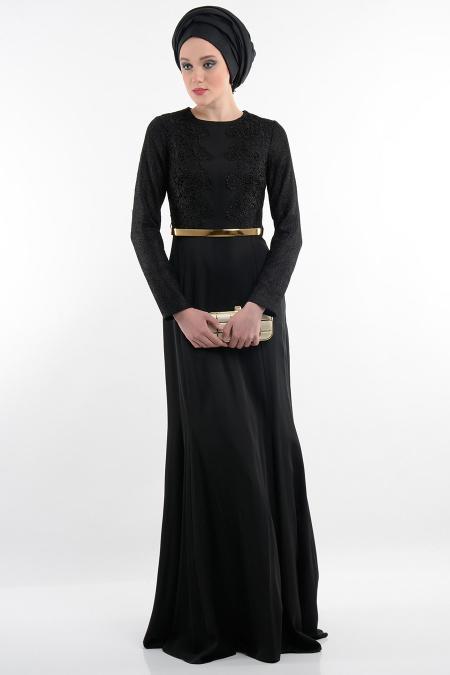 Tesettürlü Abiye Elbise
