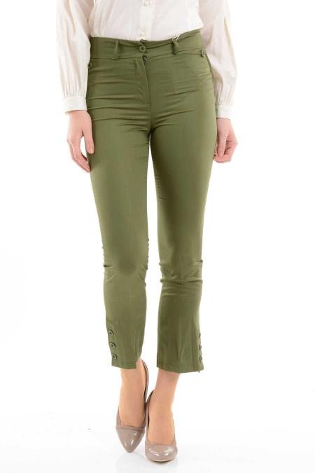 Modesty - Haki Tesettür Pantolon 1029HK