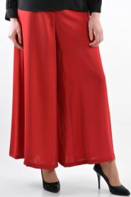 Zernişan - Kırmızı Pantolon - Thumbnail